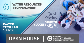 GateWay Community College Unveils Student Success Center and Water Tech Lab